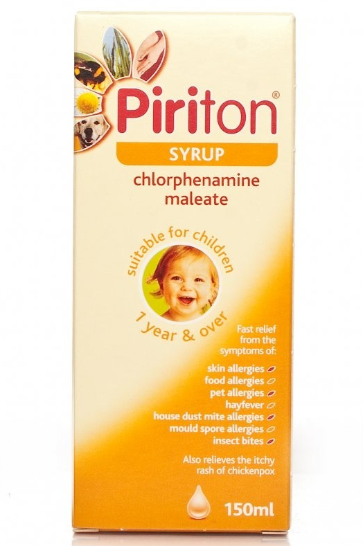 Antihistamines Piriton