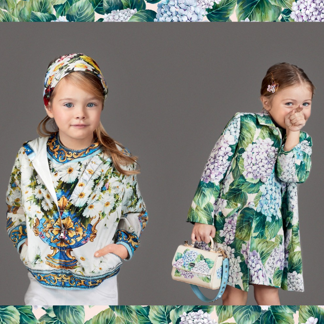 D&G Kids Fashion AW 2017