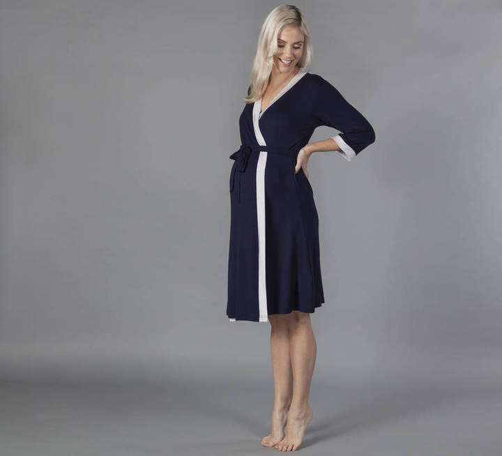 Mama Moosh Vogue Maternity Dressing Gown