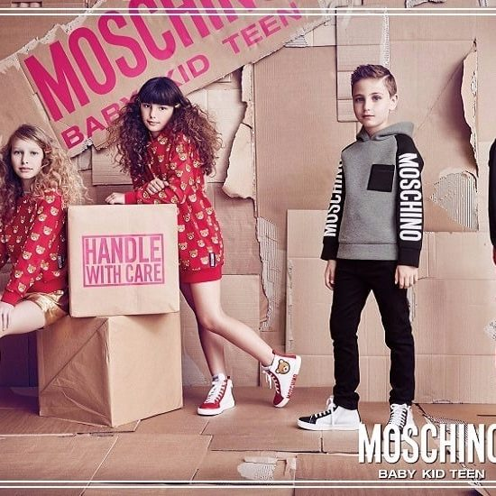 Moschino Kids Winter Collaction