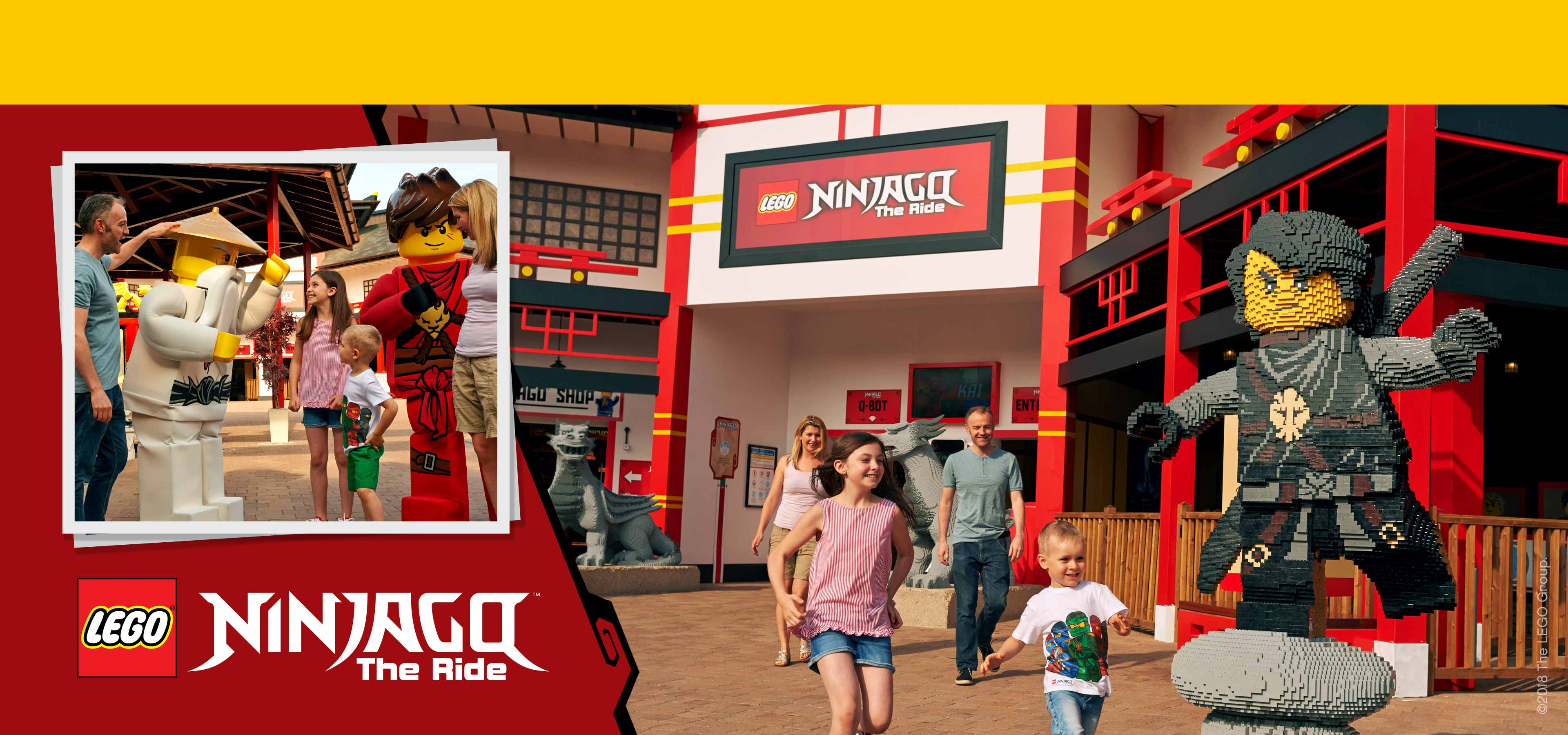 Ninjago the ride at LegoLand