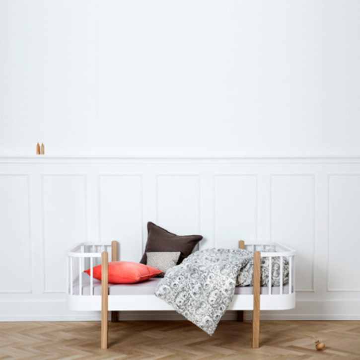 Junior Bed with Optional Extension to Single Be by Oliver of Denmark