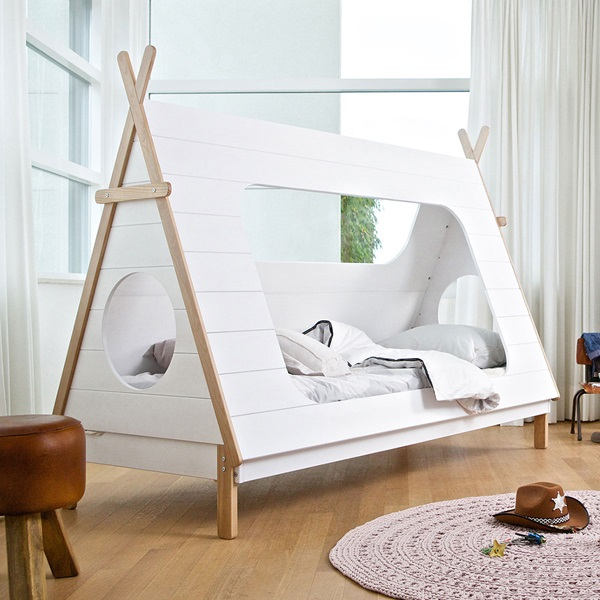 Luxury Kids Teepee Cabin Bed from Woood