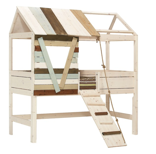 Lifetime Mid High Tree House Bed with Rope Ladder