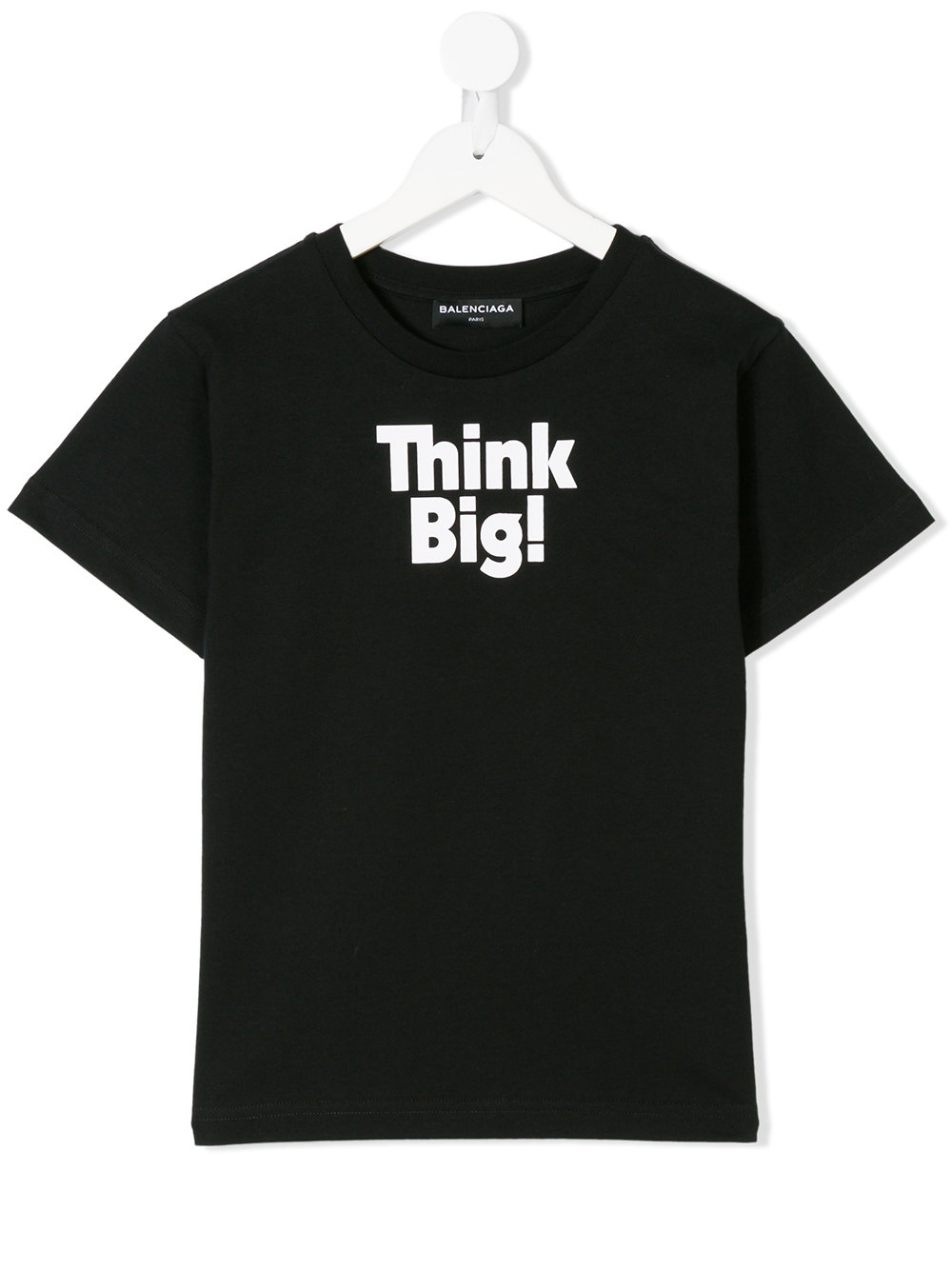 Balenciaga Kids Black 'Think Big' T-shirt