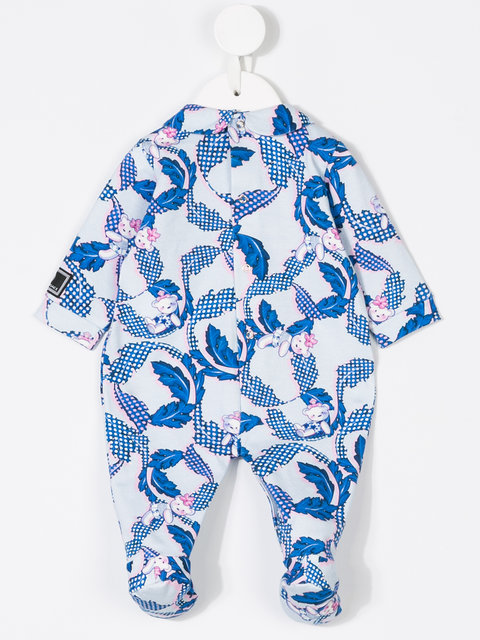 Young Versace teddy print pyjamas