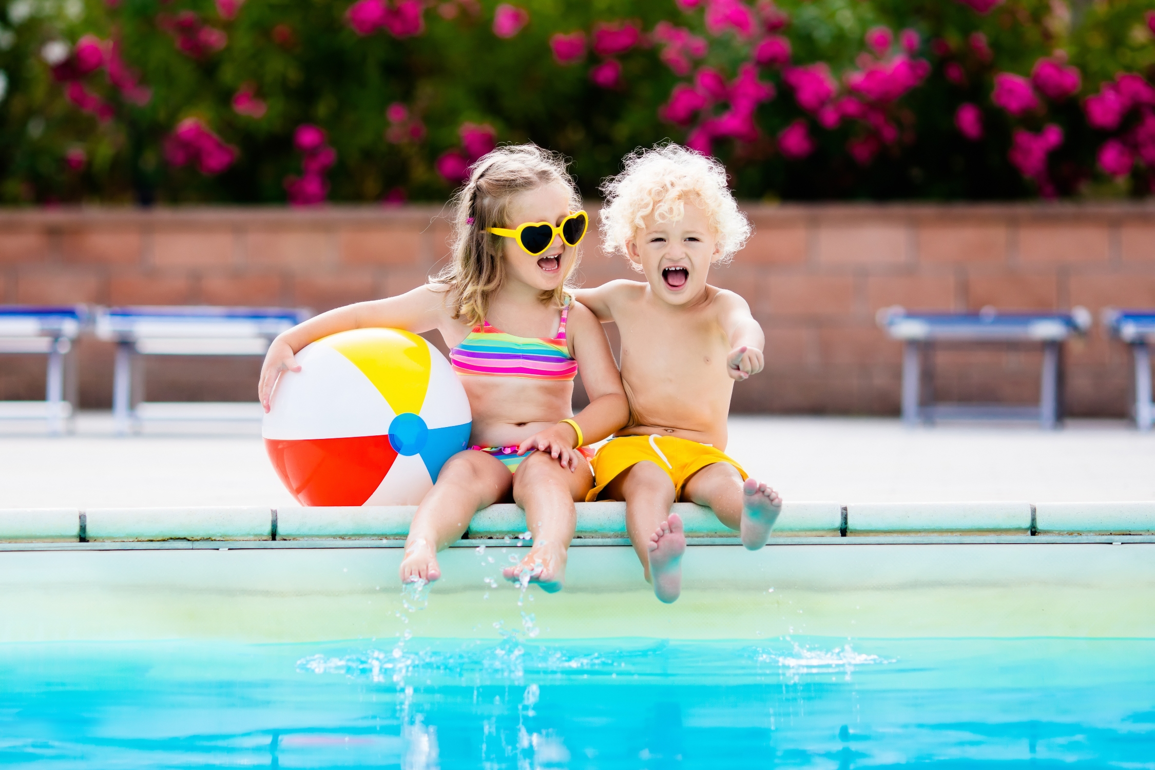Outdoor family pools in London