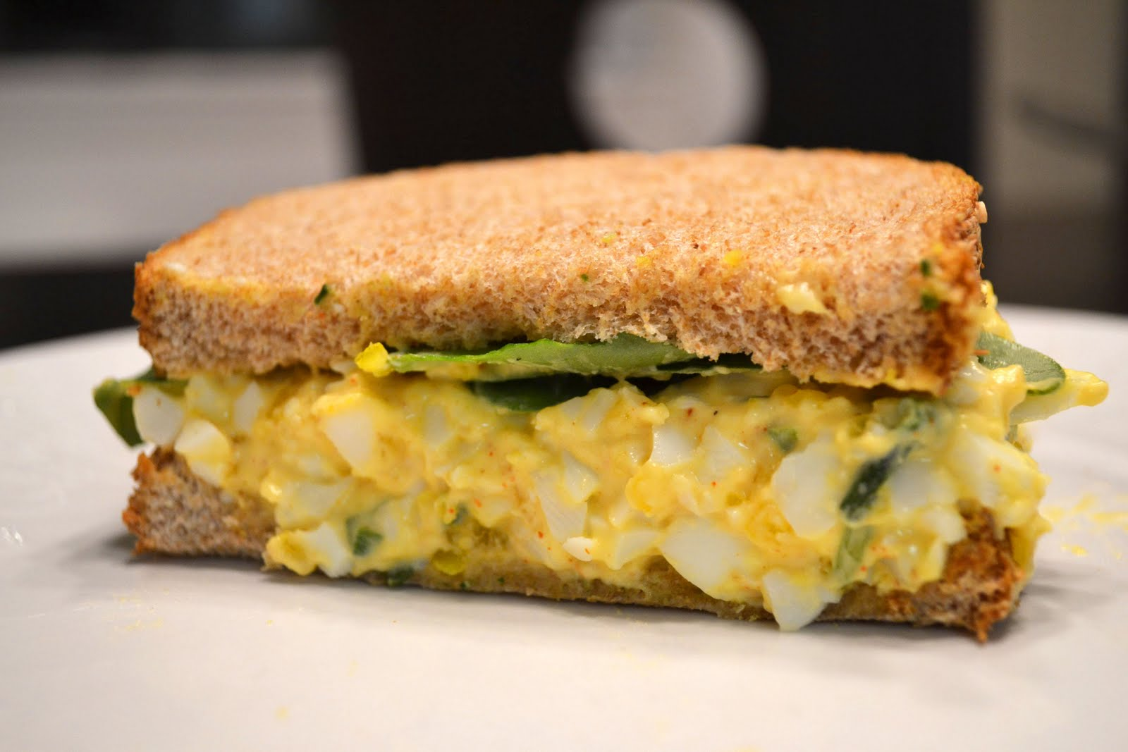Lunch Box Egg Salad Sandwich