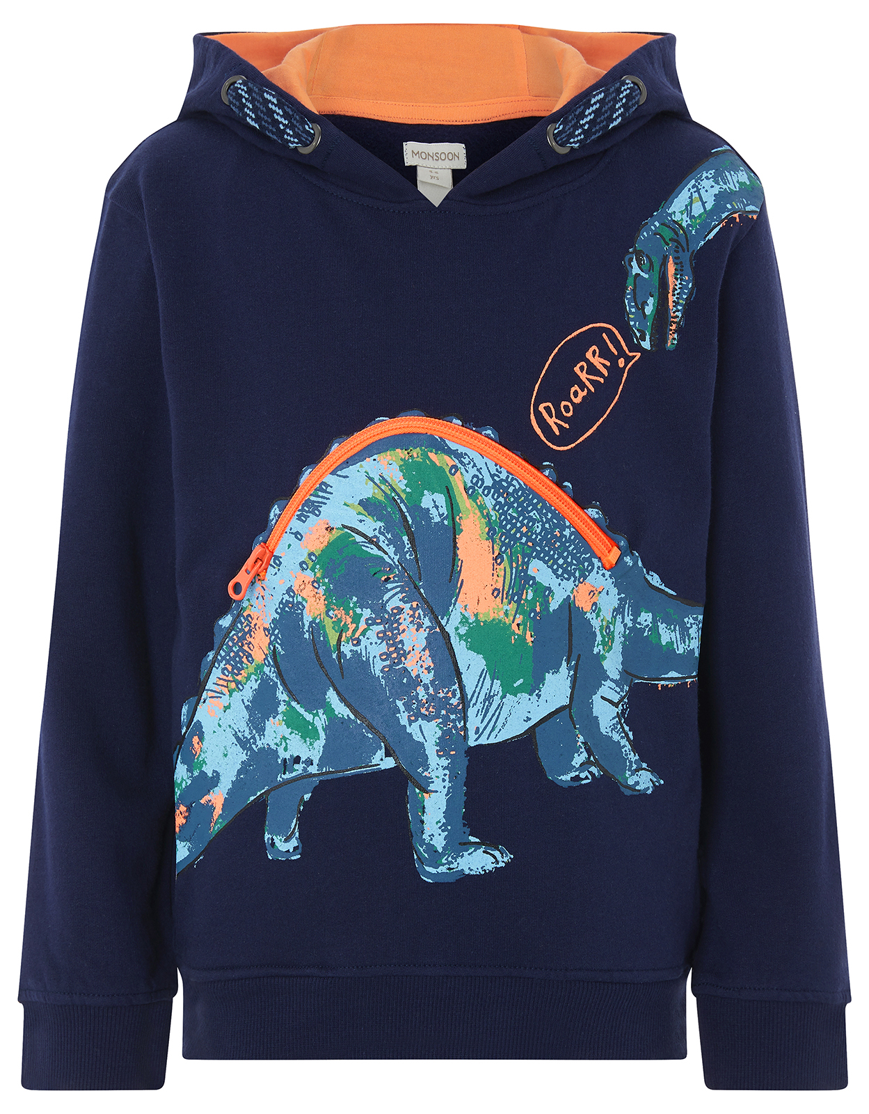 Dinosaur Hooded Jumper