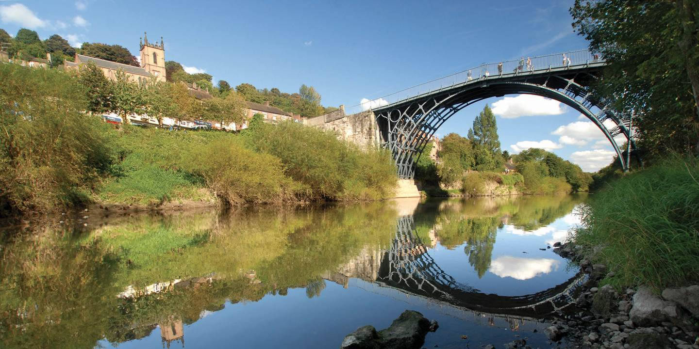 Iron Bridge and Tollhouse