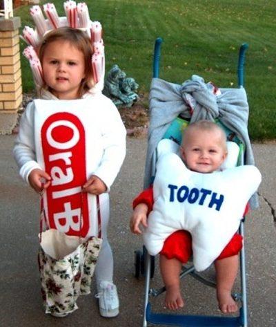 disfraces-bebe-originales-cepillo-diente