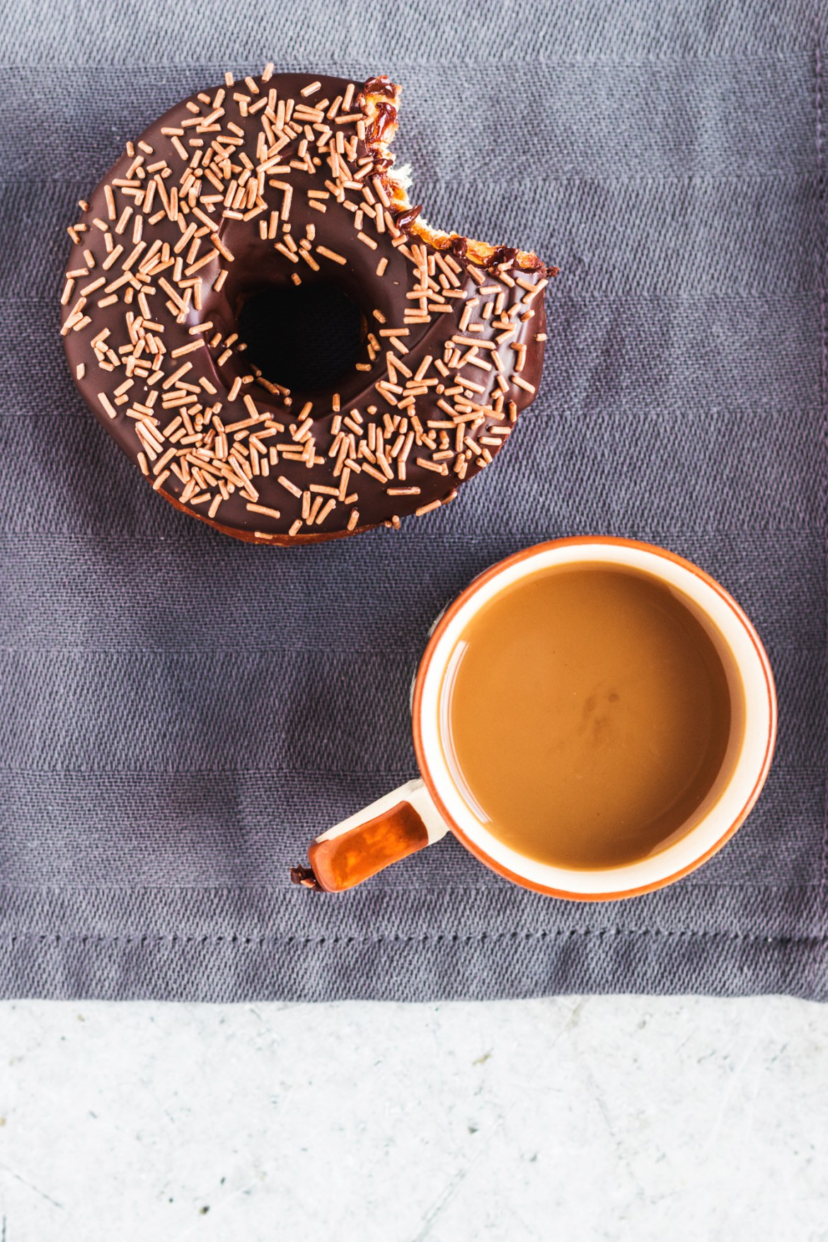 Vegan Chocolate glazed donuts